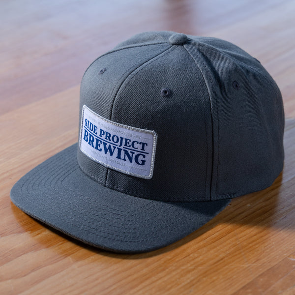 Side Project Dark Grey Classic Patch Hat