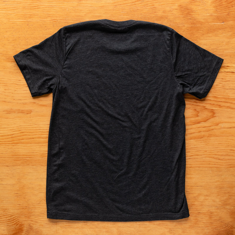 Side Project Circle Logo T-Shirt - Charcoal Black