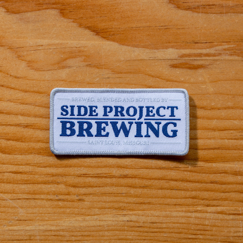 Side Project Iron-On Patch