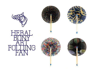【商品情報】HERALBONY ART FOLDING FAN 販売開始!