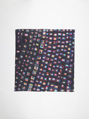"ART HANDKERCHIEF + FRAME | Sanae Sasaki""(Untitled)""(Black 01)"