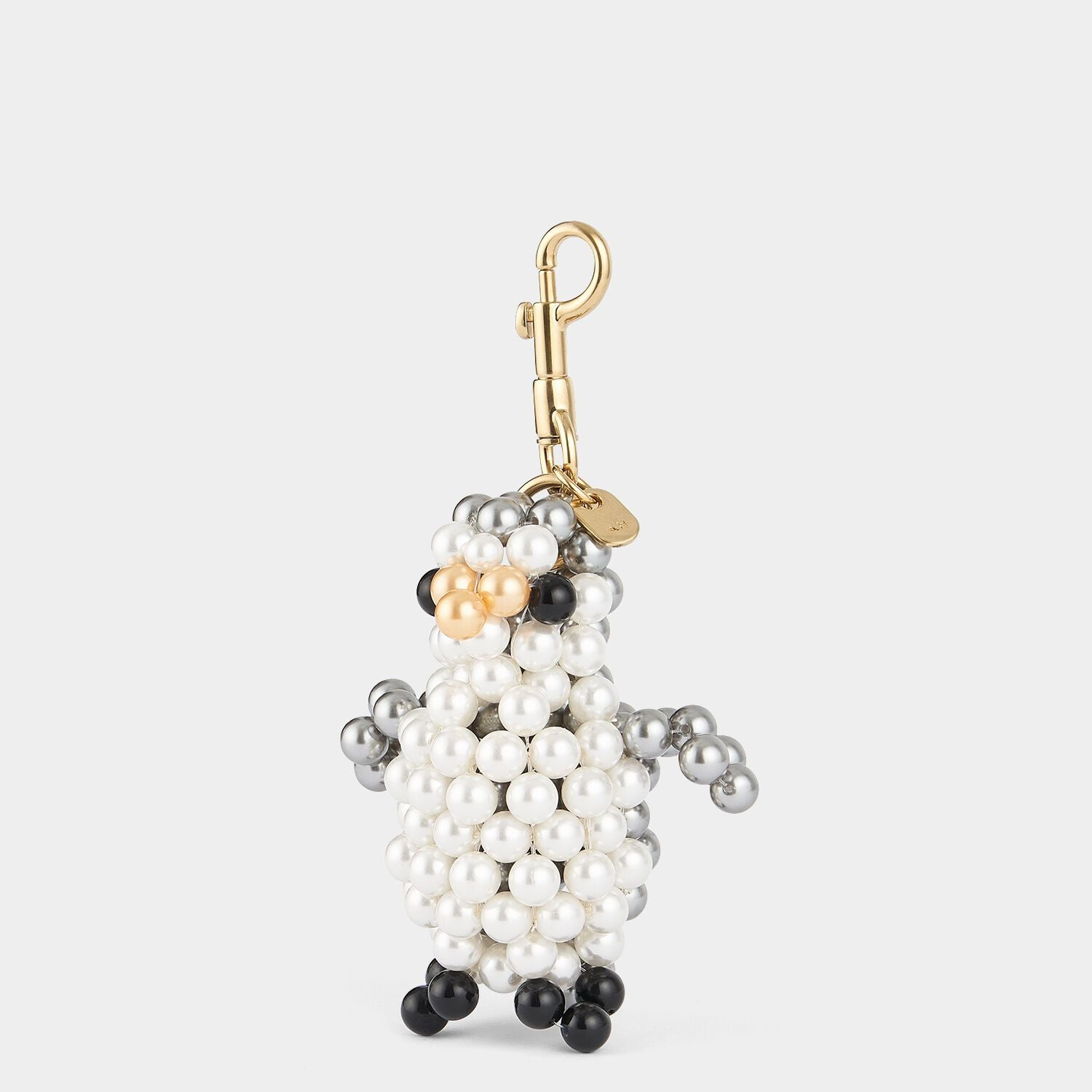 Pearl Penguin Charm