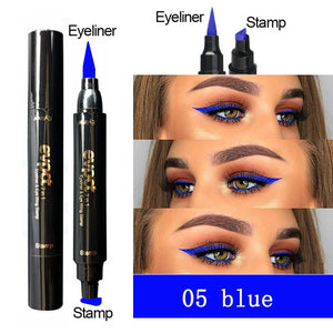 TRIANGLE SEAL DOUBLE HEAD EYELINER