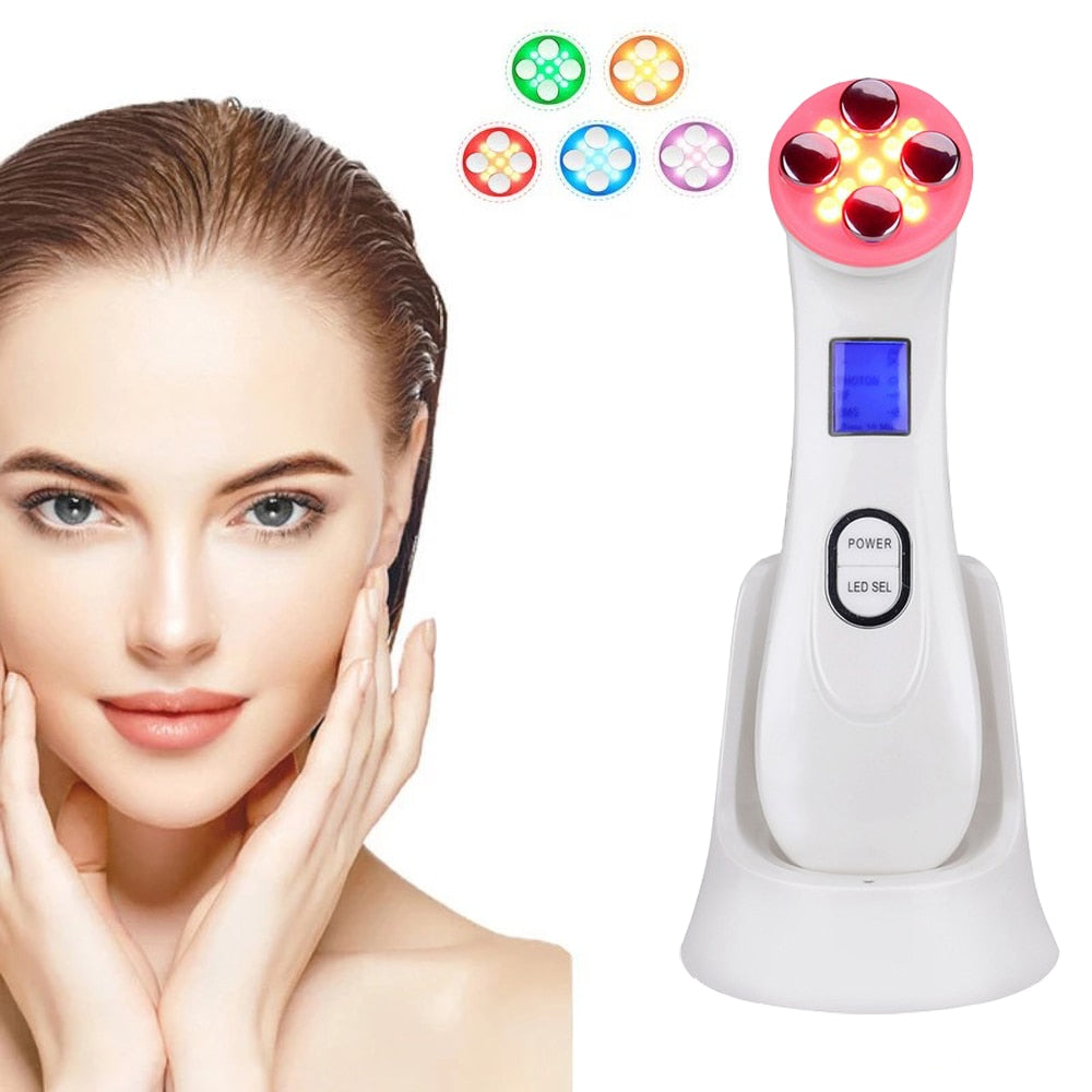 Facial Mesotherapy Electroporation Face Massager