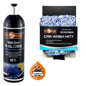 Detail Pakki - Wash & Gloss and Car Wash Mitt