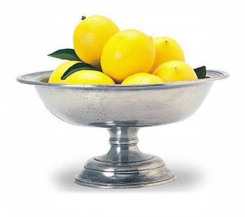 Pewter Fruit Compote
