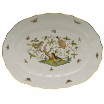 Rothschild Bird 17in Platter