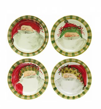 Old St. Nick Dinner Plate