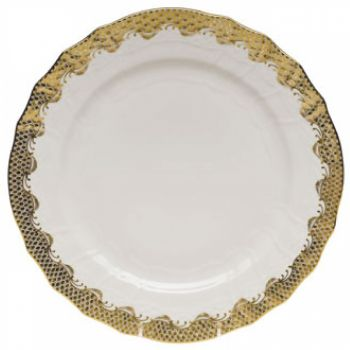 Gold Fish Scale Service Plate