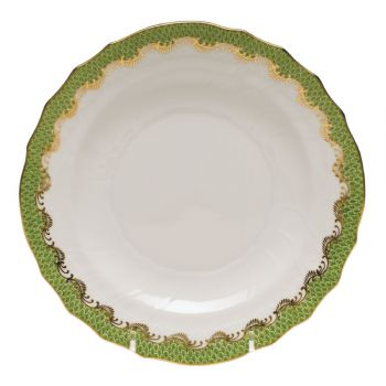 Evergreen Fish Scale Salad Plate