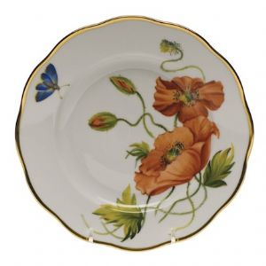 American Wildflowers Salad Plate