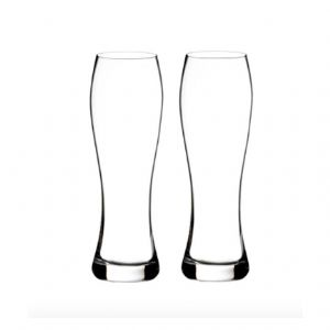 Elegance Lager Glass, Pair