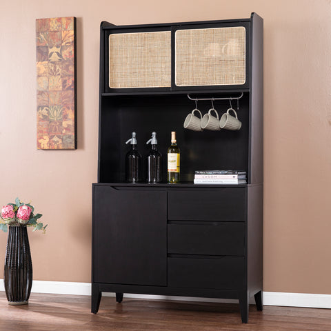 Carondale Tall Buffet Cabinet w/ Storage