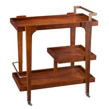 Load image into Gallery viewer, Zhori Midcentury Modern Bar Cart  -  HZ2031