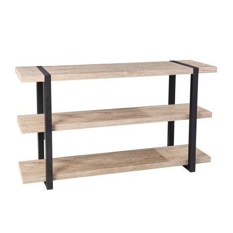 Steatly Console Table w/ Storage