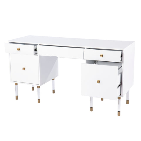 Helston White Writing Desk