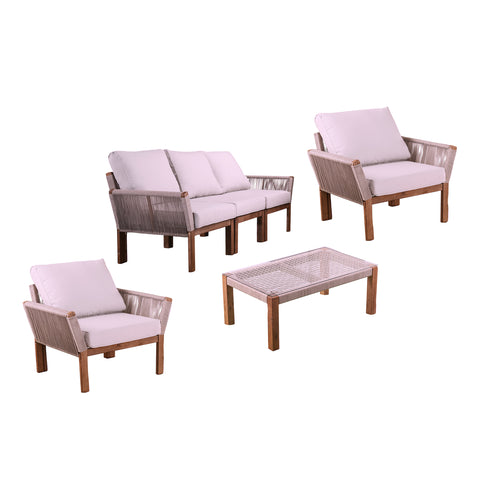 Image of Brendina Outdoor Conversation Set – 4pc