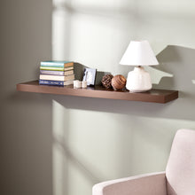 "Load image into Gallery viewer, Chicago Floating Shelf 48"" - Chocolate  -  EN7481"