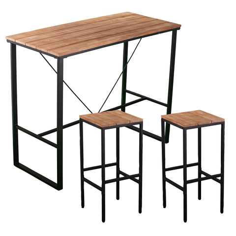 Venallo Indoor/Outdoor Barstools - 2pc Set