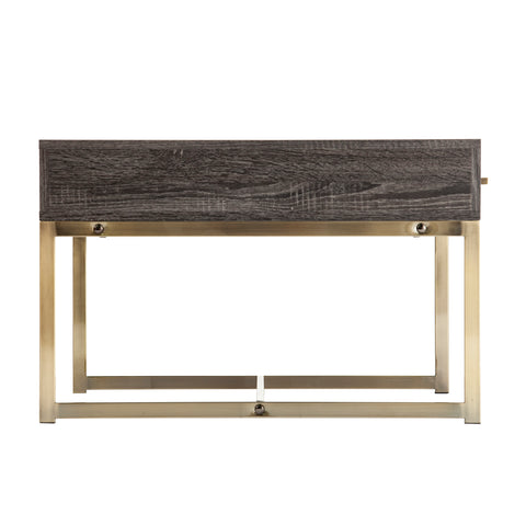 Akmonton Square Cocktail Table w/ Storage