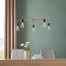 Load image into Gallery viewer, Harston 5-Light Spider Chandelier  -  LT8240