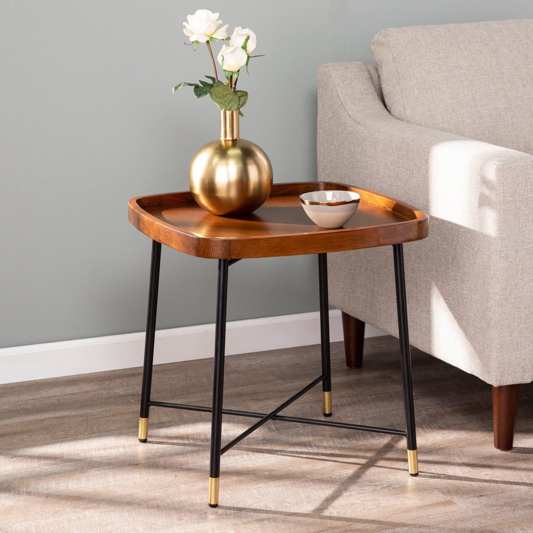 Morling Midcentury Modern Square End Table  -  CK1003802