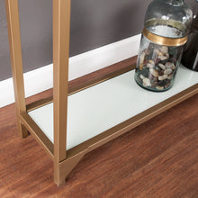 Load image into Gallery viewer, Bergen Narrow Metal Console - Gold  -  CM1656