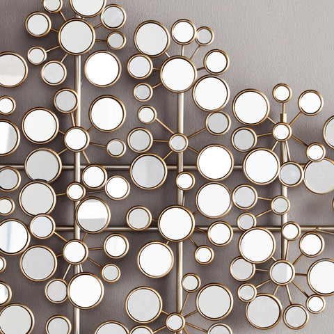 Oblishen Mirrored Metal Wall Sculpture