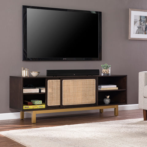 Image of Carondale Sliding Door Media Stand
