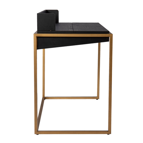 Image of Caldlin Flip-Top Desk w/ Storage