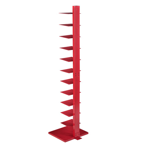 Image of Spine Tower Shelf - Valiant Poppy