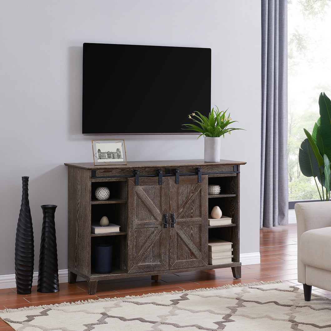 Holmes Barn Door TV Stand  -  MS8099