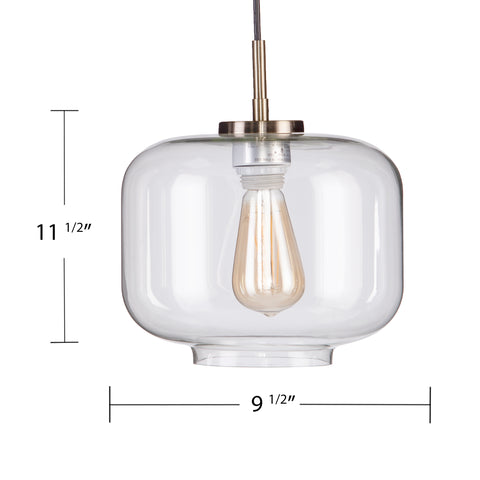 Alandari Glass Pendant Lamp