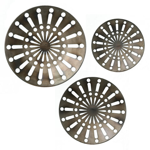 Wassleby Round Wall Art – 3pc Set