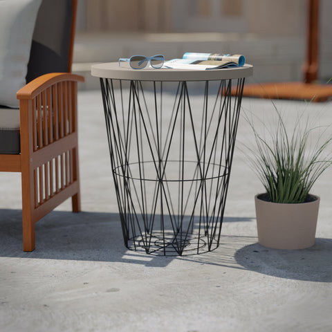 Ralinia Outdoor Accent Table
