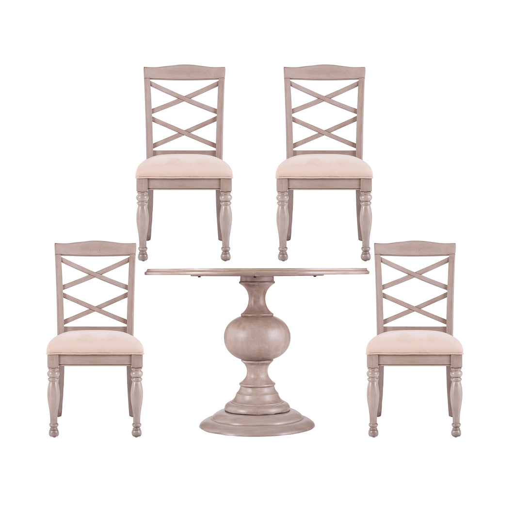 Brandsmere Traditional 5pc Dining Set  -  DN10083