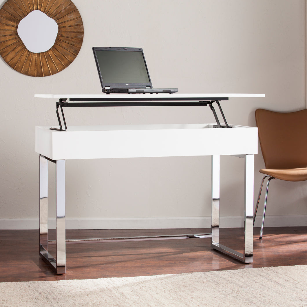 Inman Adjustable Height Sit-Stand Desk  -  HO0162