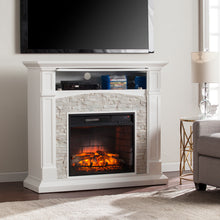 Load image into Gallery viewer, Seneca Electric Fireplace - White   -  FE9362