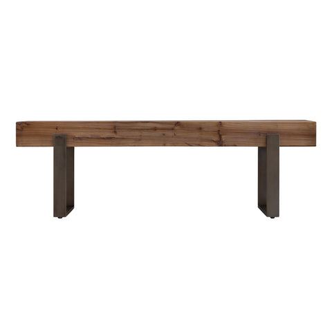 Image of Dunlin Rustic Industrial Bench