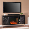 Winsterly Alexa Smart Fireplace Console w/ Media Storage