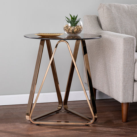 Image of Stondon Round End Table