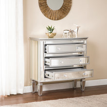 Load image into Gallery viewer, Rochelle 3-Drawer Mirrored Storage Chest - Glam Style  -  OC8164