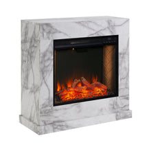 Load image into Gallery viewer, Dendale Alexa Smart Fireplace  -  FS1062859