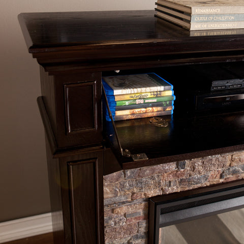 Image of Grantham Electric Corner Fireplace