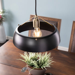 Renmarco Contemporary Pendant Lamp - Black