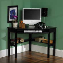 Load image into Gallery viewer, Corner Computer Desk - Black  -  HO6643