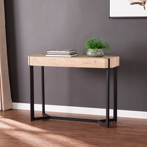 Tansterne Modern Farmhouse Console Table