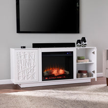 Load image into Gallery viewer, Delgrave Electric Media Fireplace w/ Storage  -  FR1095656