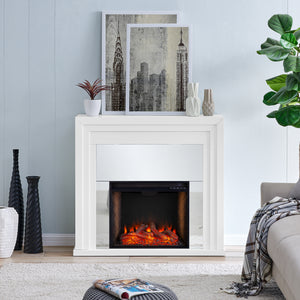 Stadderly  Alexa Smart Fireplace