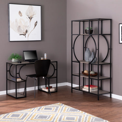 Tyberton 5-Tier Bookcase